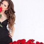 Top 5 des filles qui reçoivent un bouquet de fleurs