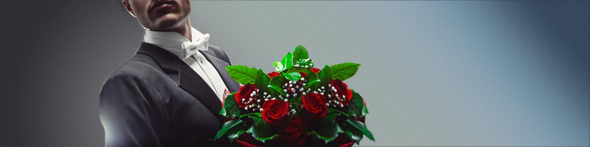 Monsieur fleurs c'est un solution pour offrir un bouquet de roses rouges, arme de séduction massive, offrir bouquet