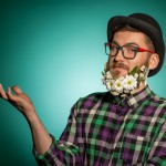 Les fleurs poussent aussi dans les barbes : barbe fleurie au top