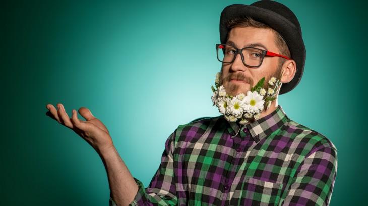 barbe fleurie monsieur fleurs