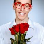 Offrir des fleurs aux hommes